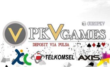 Cari Aman Situs PKV Games Deposit Via Pulsa Online