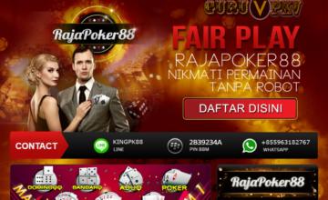 RAJAPOKER88 Situs Judi Poker Online Terpercaya di Indonesia