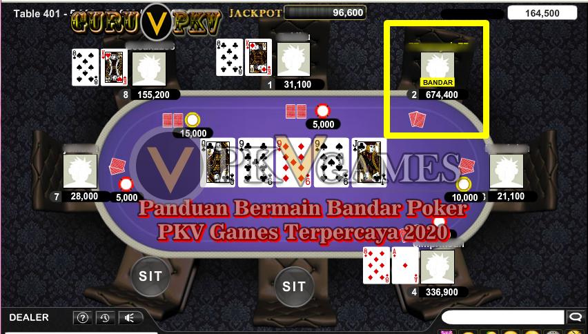 Panduan Bermain Bandar Poker PKV Games Terpercaya 2020