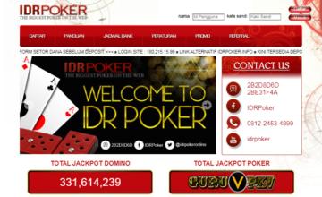 IDR POKER Situs QQ Online Terpercaya Judi Poker di Indonesia