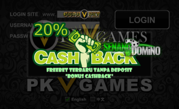 Freebet Terbaru Tanpa Deposit Bonus Cashback