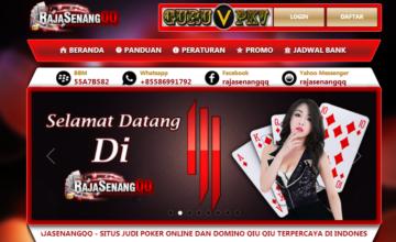RAJASENANGQQ Situs Agen Judi Poker Online dan DominoQQ Terpercaya di Indonesia